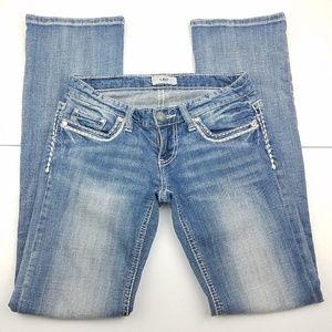 DAYTRIP Leo Bootcut Medium Wash Blue Jeans